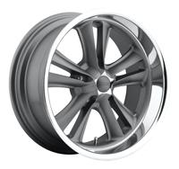 Foose F099 Knuckle Wheel, Gray
