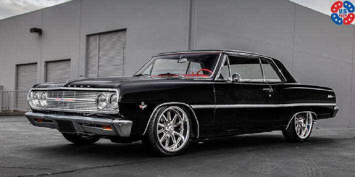 65 Malibu with U110 wheels, 20x8 front and rear