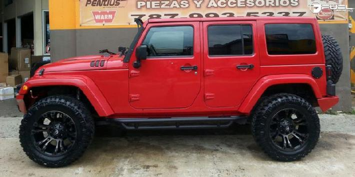 Jeep Wrangler with 20x10 D569 Vapor